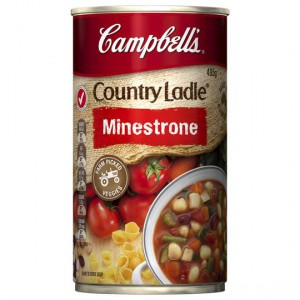 Campbell's Country Ladle Canned Soup Minestrone