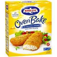 Birds Eye Oven Bake Crumbed