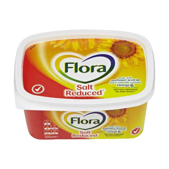 Flora Spread Salt Reduced