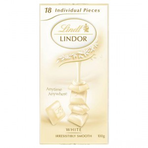 Lindt Lindor Chocolate Block White
