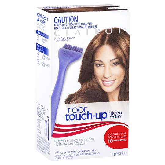 Clairol Nice N Easy Easy Root Touch Up 4g Dark Golden Brown