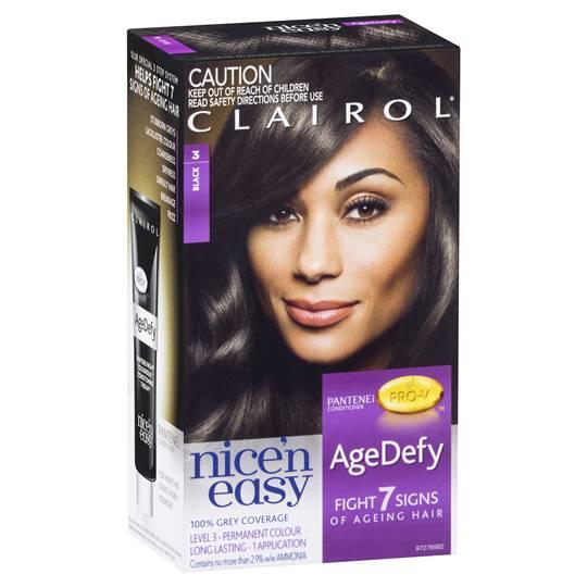 Clairol Nice'n Easy Age Defy-3 Black