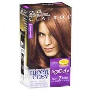 Clairol Nice N Easy Age Defy Permanent Hair 5r Medium Auburn