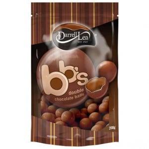 Darrell Lea Bb's Chocolate Balls Double Choc