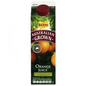 Australian Grown Orange Juice