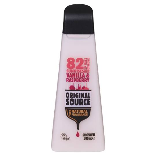Original Source Vanilla And Raspberry Shower Gel