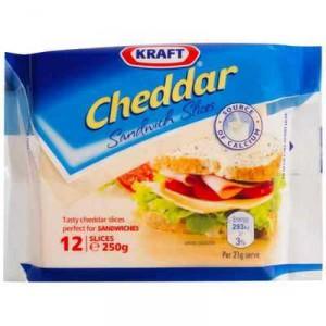 Kraft Cheddar Sandwich Cheese