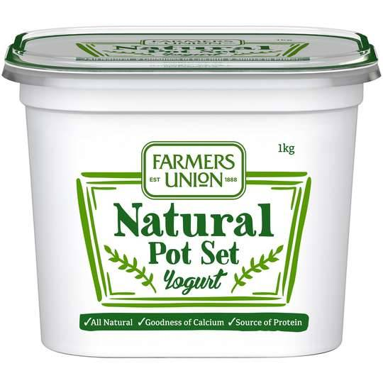 Farmers Union Natural European Style Yoghurt
