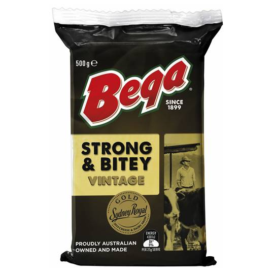 Bega Strong & Bitey Vintage Cheese