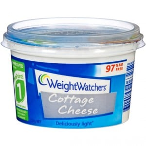 Weight Watchers Cottage Cheese