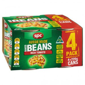 Spc Baked Beans Tomato Sauce