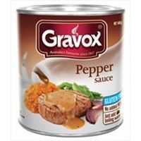 Gravox Gravy Mix Pepper Sauce