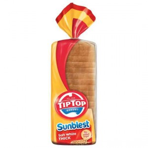Tip Top Sunblest White Thick Sliced Bread