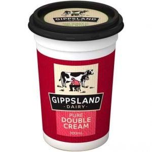 Gippsland Pure Double Cream