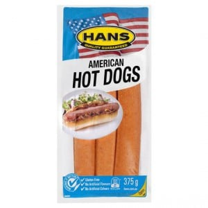 Hans Hot Dogs American