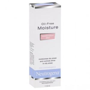Neutrogena Face Cream Oil Free Moisturiser Combination Skin