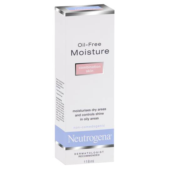 Neutrogena Face Cream Oil Free Moisturiser Combination Skin