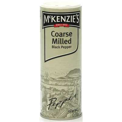 Mckenzie's Pepper Black Course Milled