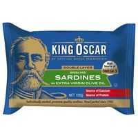King Oscar Sardines Olive Oil Double Layer