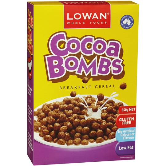 Lowan Cereal Cocoa Bombs