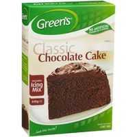 Greens Cake Mix Traditional Chocolate