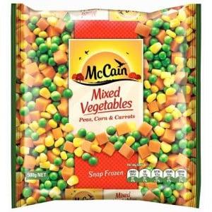 Mccain Mixed Vegetables Peas Corn & Carrot