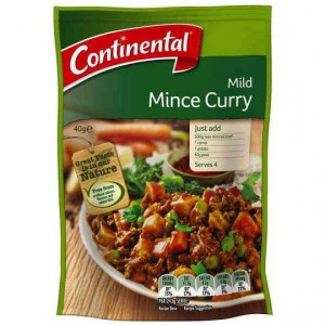 Continental Recipe Base Mild Mince Curry