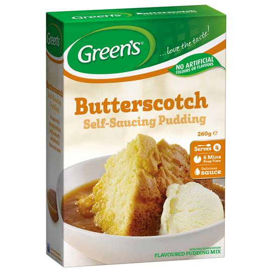 Greens Pudding Butterscotch Sponge