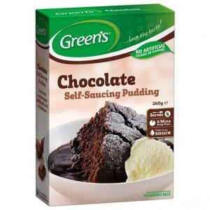 Greens Pudding Chocolate Sponge