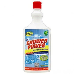 Ozkleen Shower Power Shower Cleaner Squeeze Pack