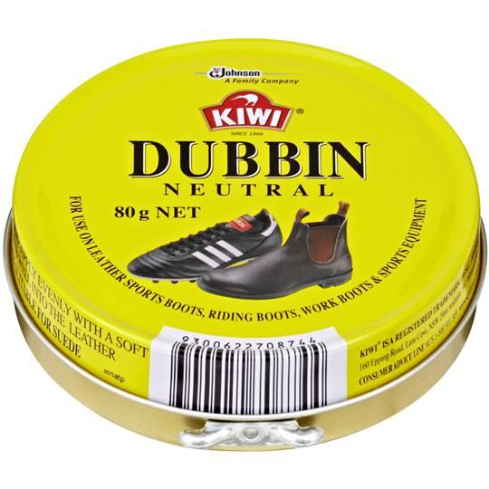 Kiwi Shoe Care Polish Dubbin Neutral