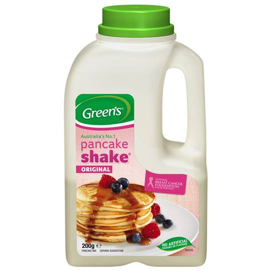 Greens Pancake Mix Original Shake