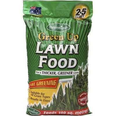 Brunnings Garden Green Up Lawn Food