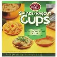 Jos Poell Mini Toast Salad Ragout Cup