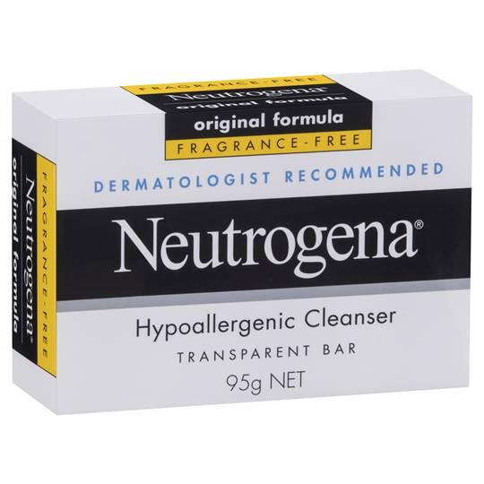 mom112217 reviewed Neutrogena Facial Cleanser Hypoallergenic Bar