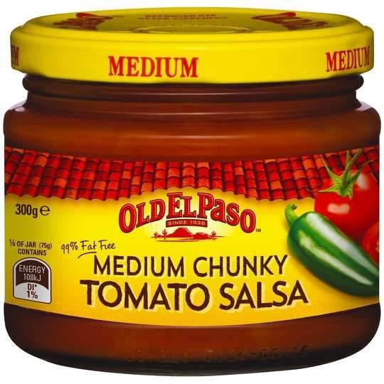 Old El Paso Chunky Tomato Salsa Medium