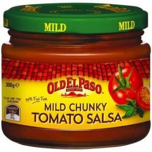Old El Paso Chunky Tomato Salsa Mild
