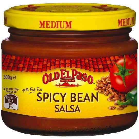 Old El Paso Spicy Bean Salsa Medium Spicy Bean