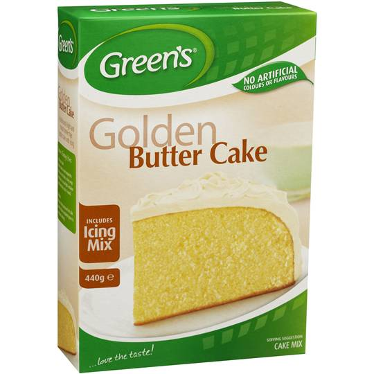 Greens Cake Mix Traditional Golden Butter