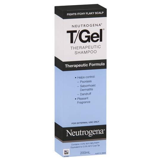 Neutrogena T Gel Anti Dandruff Shampoo Therapeutic