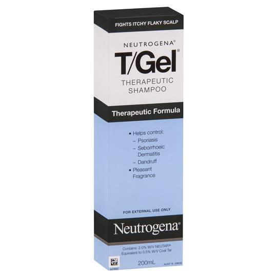 Neutrogena T Gel Anti Dandruff Shampoo Therapeutic