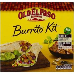 Old El Paso Dinner Kit Burrito