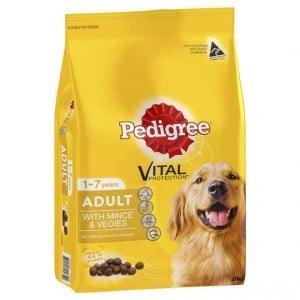 Pedigree Adult Dog Food With Mince & Vegies