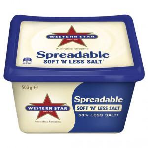 Western Star Soft 'n' Less Salt Spreadable