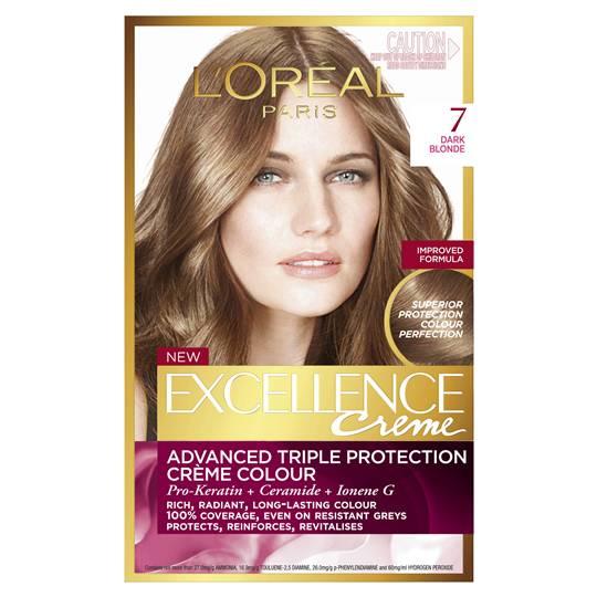 L'oreal Excellence Crème 7 Dark Blonde