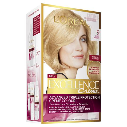 L'oreal Excellence Crème 9 Light Blonde