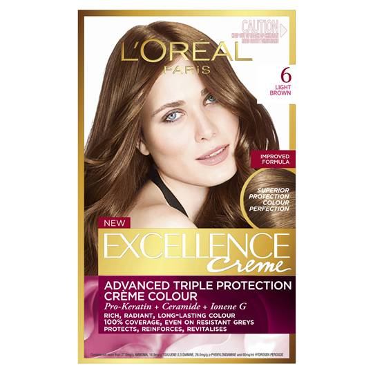 L'oreal Excellence Crème 6 Light Brown