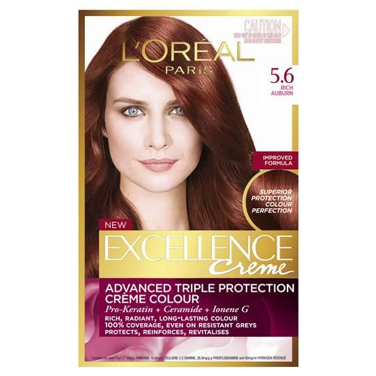 L'oreal Excellence Crème 5.6 Rich Auburn
