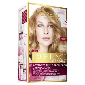 L'oreal Excellence Crème 8 Blonde