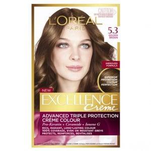 L'oreal Excellence Crème 5.3 Golden Brown